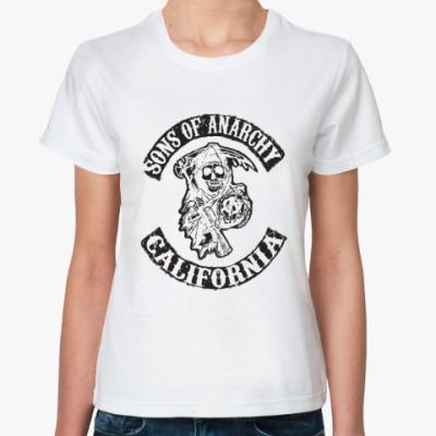 Классическая футболка Сыны Анархии - Калифорния