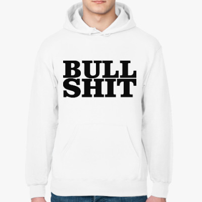 Толстовка худи BullShit