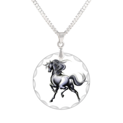 Кулон лошадь