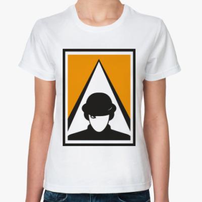 Классическая футболка Заводной апельсин (A Clockwork Orange)