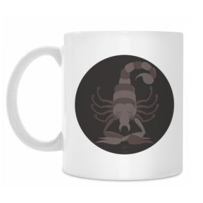 Кружка Animal Zen: S is for Scorpion