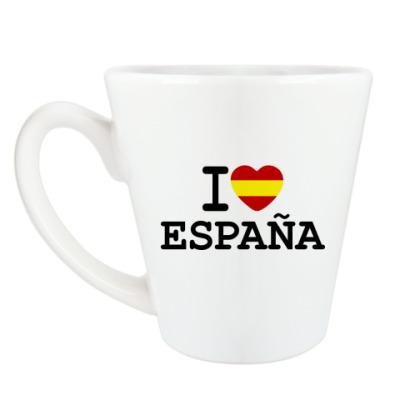 Чашка Латте I Love España