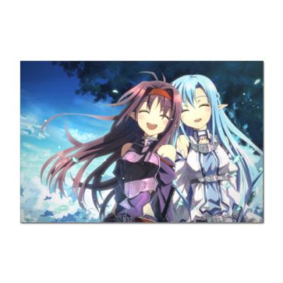 Наклейка (стикер) Sword Art Online