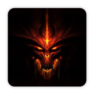 Костер (подставка под кружку) Демон