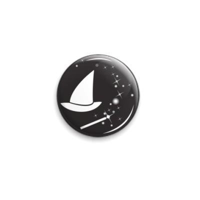 Значок 25мм  Спутники Волшебника