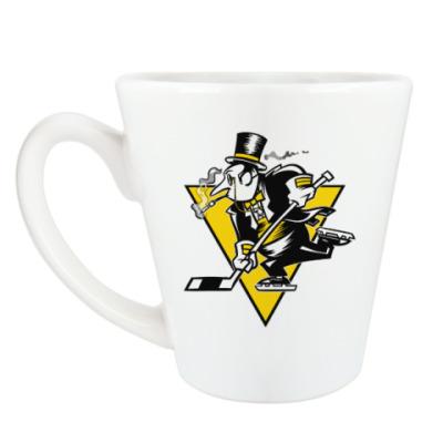 Чашка Латте Go Penguins