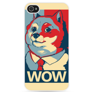 Чехол для iPhone WOW - Doge