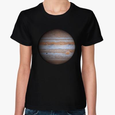 Женская футболка Юпитер