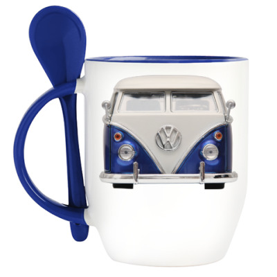 Кружка с ложкой Volkswagen Bus