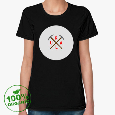 Женская футболка из органик-хлопка URAL