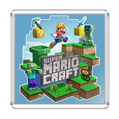 Магнит Super Mario Craft