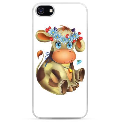 Чехол для iPhone Очаровательная коровка