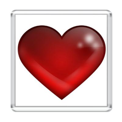 Магнит Большое сердце