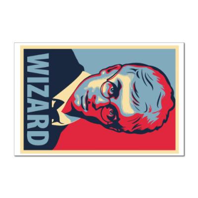 Наклейка (стикер) Wizard