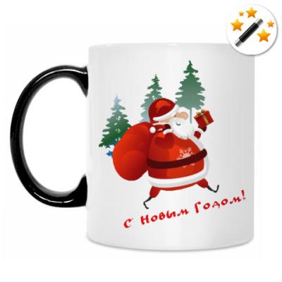 Кружка-хамелеон Дед Moroz