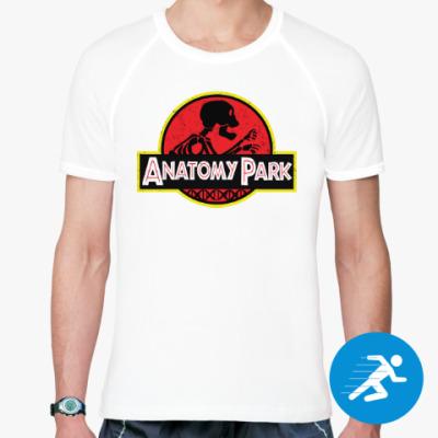 Спортивная футболка Anatomy Park
