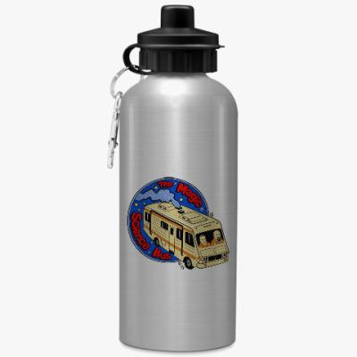 Спортивная бутылка/фляжка Волшебный автобус