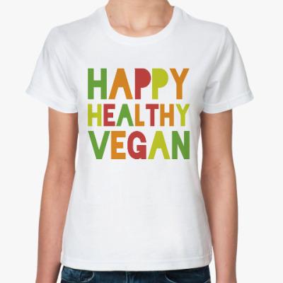 Классическая футболка Веган