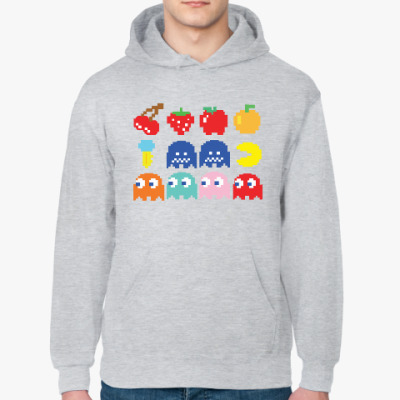 Толстовка худи Pac-Man / PacMan / ПакМан