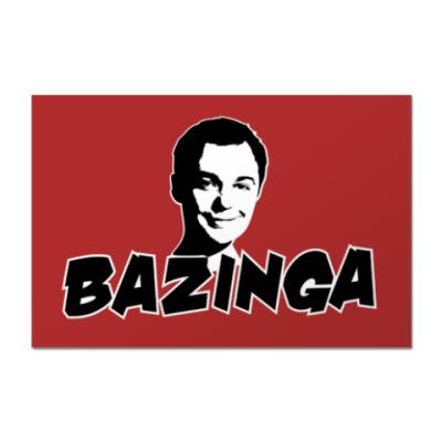 Наклейка (стикер) Big bang theory