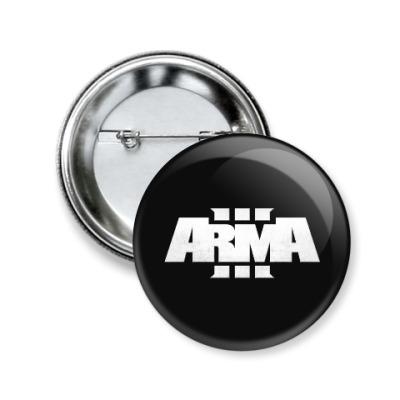 Значок 50мм ARMA 3