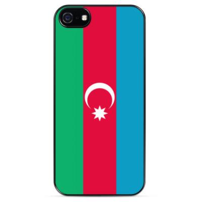 Чехол для iPhone Флаг Азербайджана