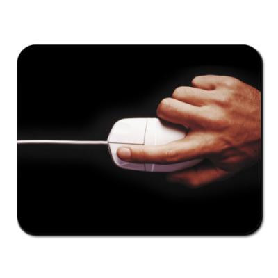 Коврик для мыши рука с мышью