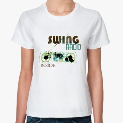Классическая футболка SWING RADIO