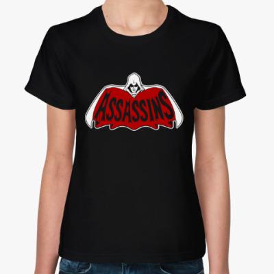 Женская футболка Assassins x Batman