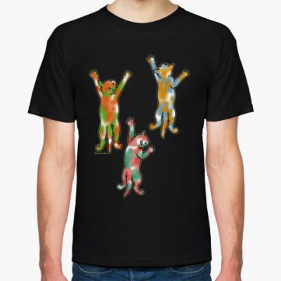 Футболка Разноцветные котята