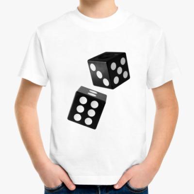 Детская футболка Игральные кубики