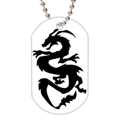 Жетон dog-tag Дракон