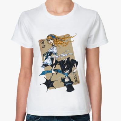 Классическая футболка  'Love Story'