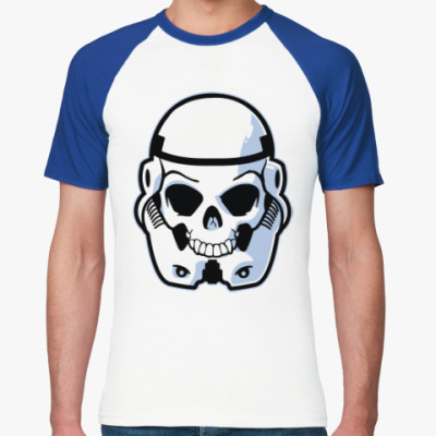 Футболка реглан Trooper Skull