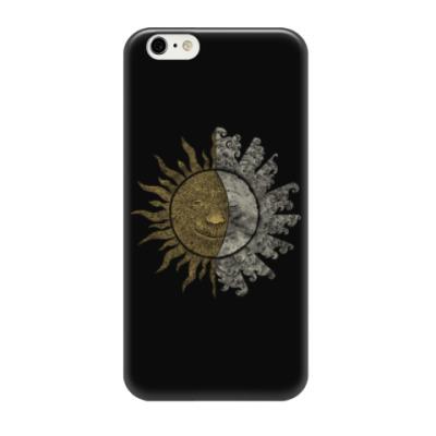 Чехол для iPhone 6/6s Солнце и Луна