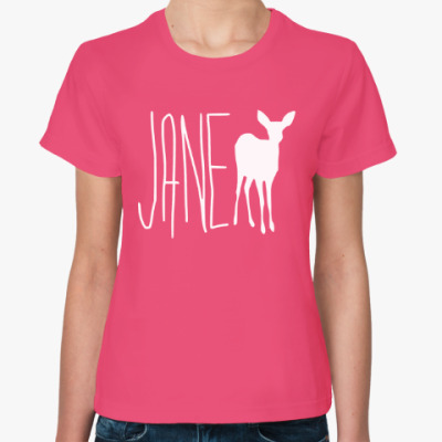 Женская футболка Life is Strange Deer (Олень)