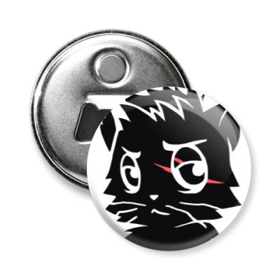 Магнит-открывашка Черный кот new