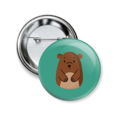 Значок 50мм Bear