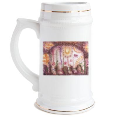Пивная кружка Слоник
