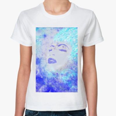 Классическая футболка душа света