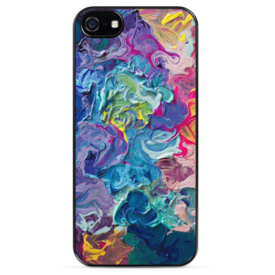 Чехол для iPhone Paints
