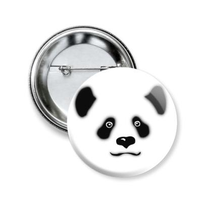 Значок 50мм Панда