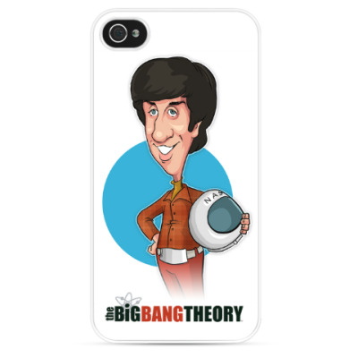 Чехол для iPhone Говард. Теория Большого взрыва