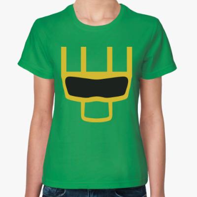 Женская футболка Пипец