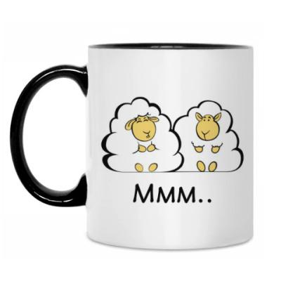Кружка Влюбленные овечки