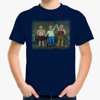 Детская футболка боксеры