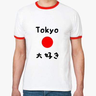 Футболка Ringer-T Tokyo Daisuki