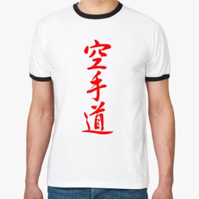 Футболка Ringer-T Karate Japan