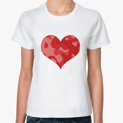 Классическая футболка Гламфляж
