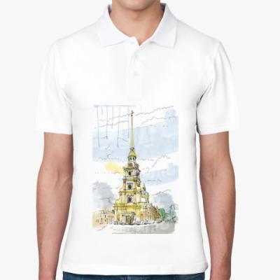 Рубашка поло Петропавловская крепость